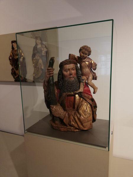 Christophorus mit Christuskind im Franziskanermuseum